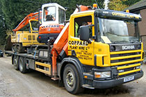 26.0 Tonne Scania Flatbed with Hiab Crane