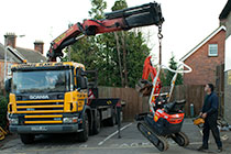 32.0 Tonne Scania 8 Flatbed with Palfinger Crane