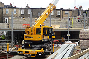 one of our many cranes for hire