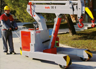 Valla 30E - Pick and Carry Crane