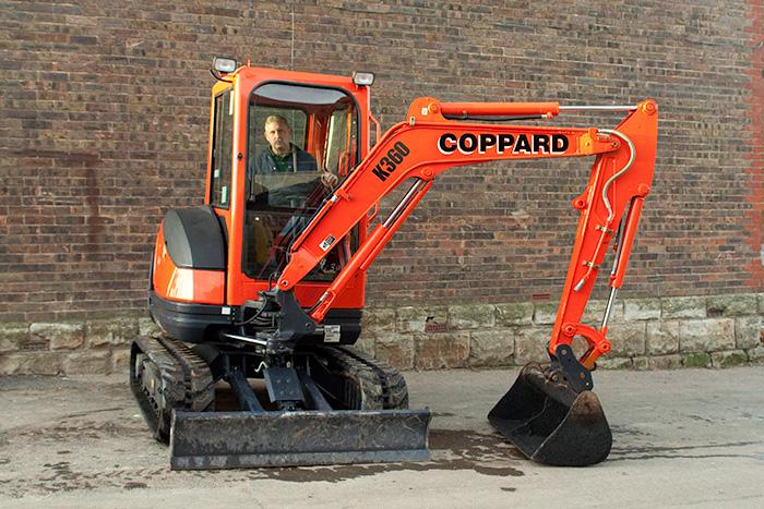 Kubota Kx71 3 Excavator Mini Digger Hire Coppard Plant