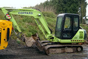 Hyundai R555m excavator for hire