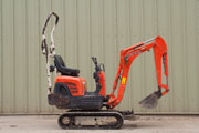 Kubota K008-3 Mini digger for hire
