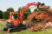 Kubota KX161-3 excavator for hire