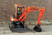 Kubota KX71-3 excavator for hire