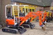 Kubota U15-3 Zero swing excavator available for hire