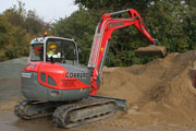 Neuson 8.0 tonne excavato for hire