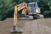 Samsung SE130 Excavator for hire