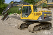 Volvo EC140B excavator for hire