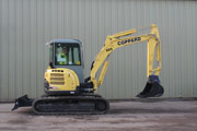 Yanmar VIO50 Excavator for hire
