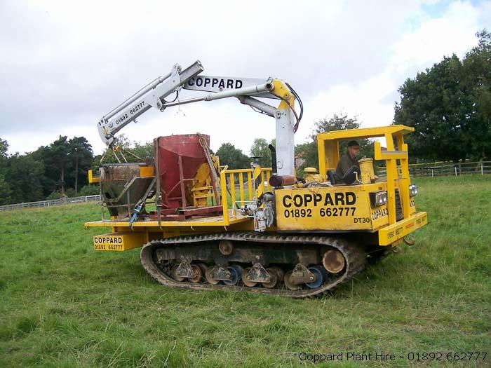 Crane Hire - Coppard Plant Hire Ltd  Tel 01892 662777