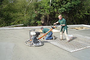 Power Float Finishing Concrete